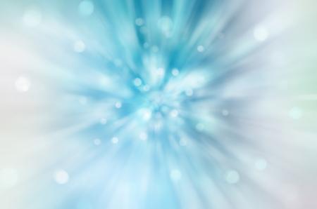 light speed: Hermoso fondo abstracto de la fantas�a, rayos borrosa suaves de luz, efecto de la velocidad, las luces de bokeh