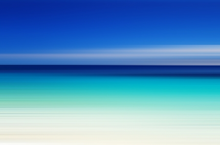 Abstract sea background in motion blur