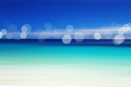 Abstract sea background in motion blur photo