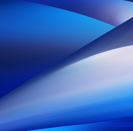Abstract Background, blue smooth wave template photo