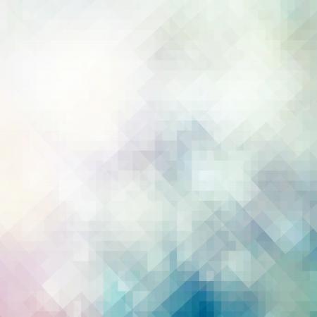 Abstrakte Mosaik Hintergrund, Geometrie Web-Design-Vorlage, schöne Pastelltöne, Visitenkarte Muster Standard-Bild - 21539107