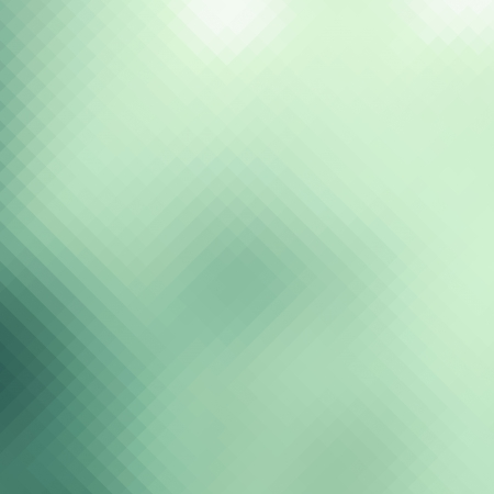 pixelated: Abstract green pixelated background, business card template, website design