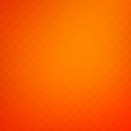 Abstract blurred orange geometric background with space for text or design photo