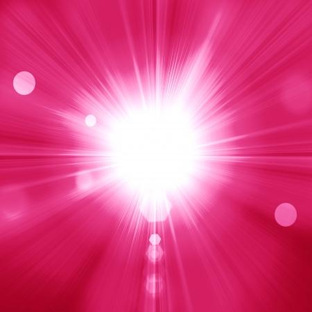 A pink color design with a burst Banque d'images