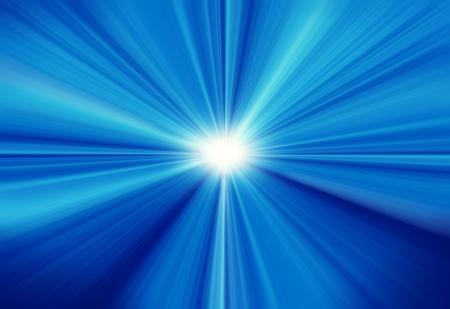 レンズと青空に太陽フレアします。 写真素材