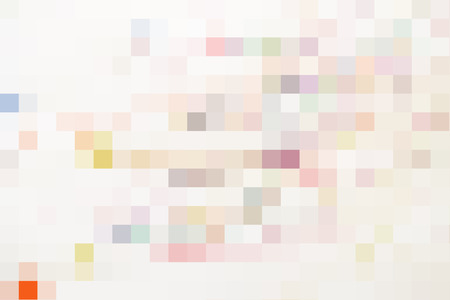 Abstract colorful geometric pixel pattern background with space for text Archivio Fotografico