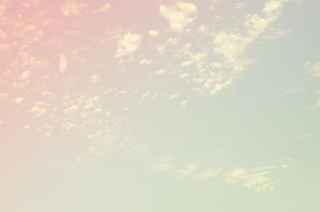 cross process: Vintage sky texture pastel