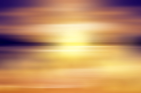 abstract sunset over ocean