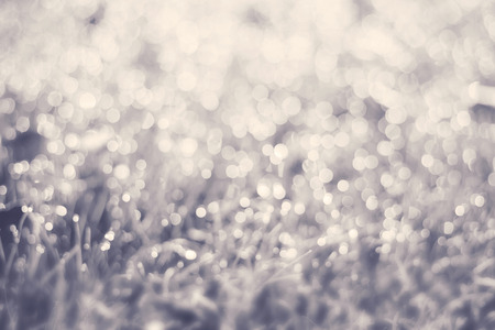 Beautiful bokeh lights abstract background photo