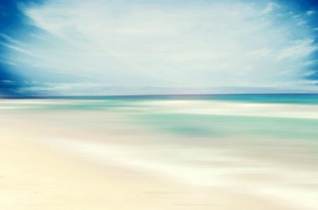 sandy beaches: An abstract sea seascape Stock Photo
