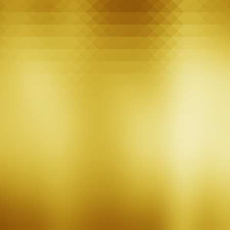 glitzy: abstract gold gradient background with geometric shapes