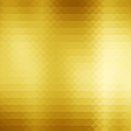 glitzy: Abstract gold triangle geometry pattern background.Yellow gold sparkle glitter background.