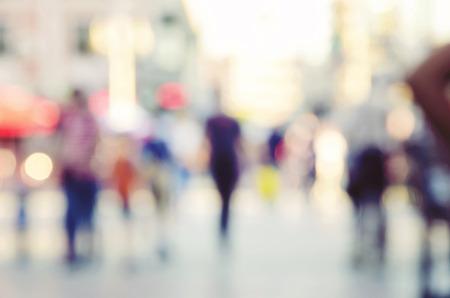 blur abstract people background Foto de archivo