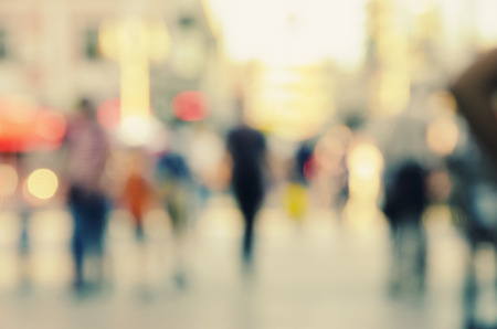 blur abstract people background Archivio Fotografico