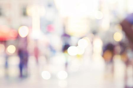 urban colors: desdibujar la gente fondo abstracto Foto de archivo