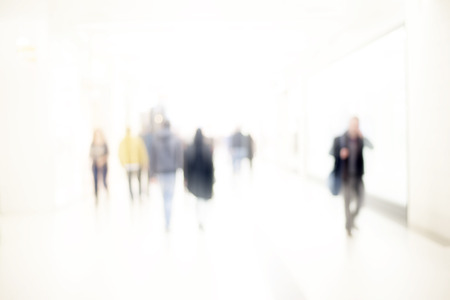 abstract blur people background Archivio Fotografico