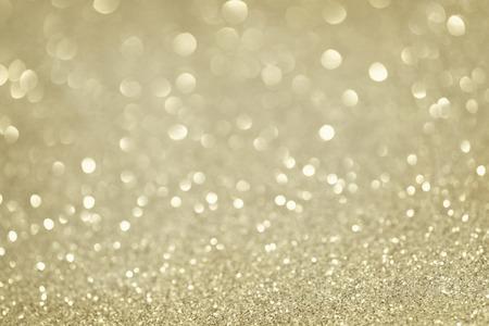 Silber glitzernden Weihnachtsbeleuchtung. Verschwommene abstrakten Hintergrund Standard-Bild - 46921515