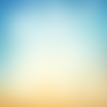 light color: background color gradient from blue to orange Stock Photo