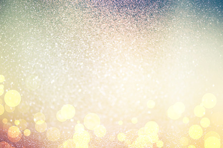 defocused: abstract defocused lights, sparkling holiday bokeh background with golden tones, elegant christmas backdrop