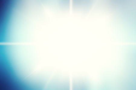 white colour: Abstract white rays over blue sky background.Blue color design with a burst