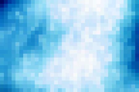 tile: Blue mosaic tile  background