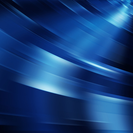 Blue motion blur abstract background