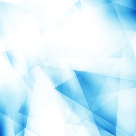 Résumé fond bleu polygonale Banque d'images