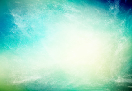 Grunge background in blue and beige color