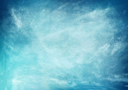 distressed background: artistic cloud and sky with grunge paper texture Stock Photo