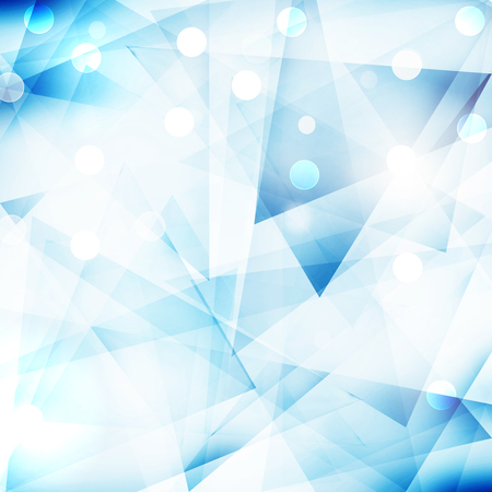 de focus: Abstract polygonal blue background