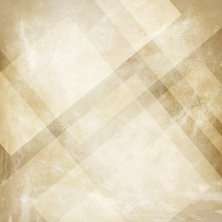 Grunge beige background with abstract design, vintage old beige and  background design, neutral colors, triangle  shapes with angled lines in abstract pattern layers