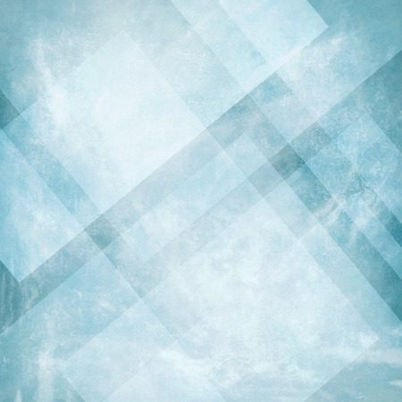 pale cream: Grunge blue background with abstract design, vintage old blue background design, neutral colors, triangle shapes with angled lines in abstract pattern layers Stock Photo