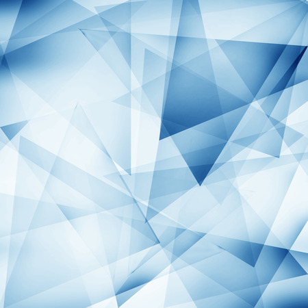 blue abstract: Abstract polygonal blue background
