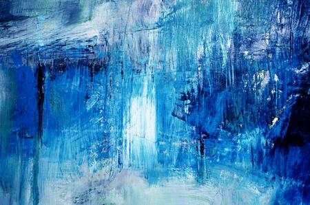 Detail der künstlerischen abstrakten Öl gemalten Hintergrund Standard-Bild