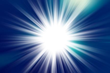 abstract burst starlight Stock Photo