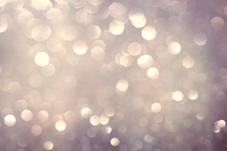 abstract bokeh background, shining lights, holiday sparkling atmosphere, celebration ambient Stock Photo