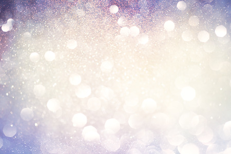 abstract bokeh background, shining lights, holiday sparkling atmosphere, celebration ambient 版權商用圖片