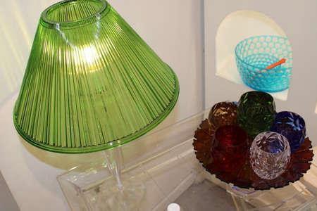 glass pottery ceramic glass flasks for decoration Stockfoto