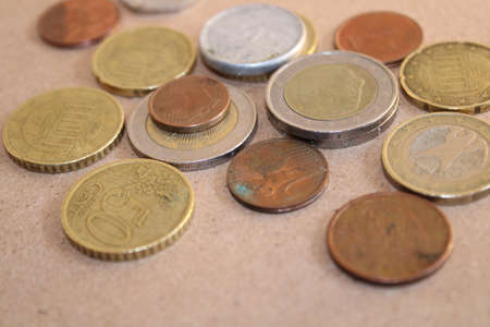 euro coins european union currency