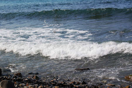 Waves on the sea Stock Photo - 9757553