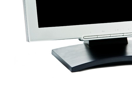 monitor isolated on white background Stock Photo - 4007099