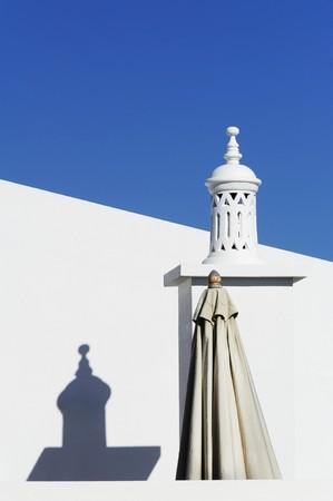 holiday home: Detalle de una vacaciones en Algarve, Portugal.  Foto de archivo