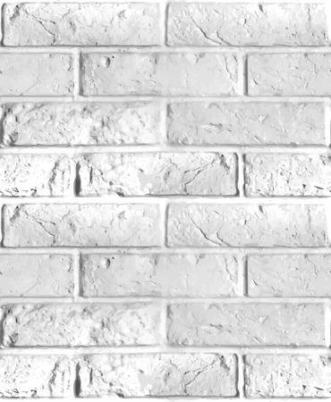 boundless: Vector seamless pattern of brick wall. Light boundless illustration.