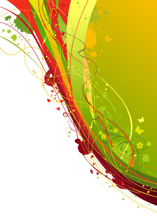 place for text: Abstract vector background. There is place for text.