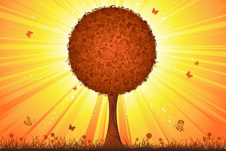 sunshine background: Sunshine background for your design.