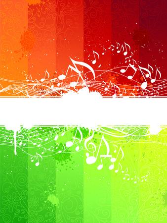 Grunge音乐背景由两部分组成,其中包含文本。