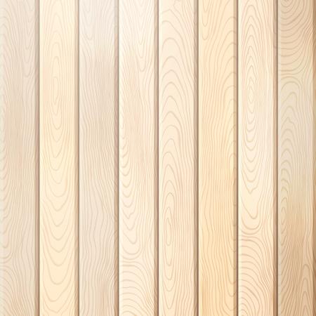 madera rústica: Fondo del pino tablón de madera. Vector de fondo brillante cuadrado con tablones verticales. Vectores