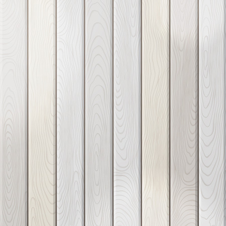 wood planks: Vector grey wood plank background. Light square background with vertical planks.