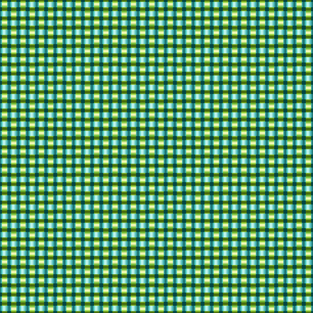 boundless: Seamless bright interlacing background. Boundless green and yellow textile pattern. Illustration