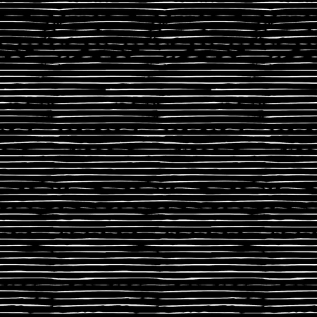 monochrome: Chalk seamless pattern of horizontal thin brush strokes. Hand-drawn chalk brush flourishes on blackboard background. Boundless background can be used for web page backgrounds, wallpapers.